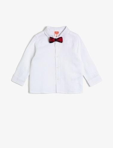 Koton Kids Gömlek Ekru